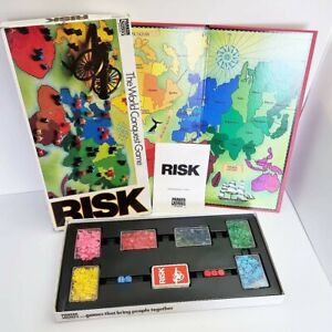 Risk The World Conquest Game Parker Brothers Vintage 1982 - 100% Complete