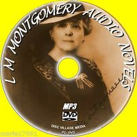 BEST OF L M MONTGOMERY 8 AUDIOBOOKS FAVORITE CLASSICS MP3 FORMAT ON PC DVD NEW