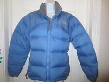 THE NORTH FACE Womens NUPTSE BLUE 700 GOOSE DOWN Fill PUFFER COAT Jacket Medium