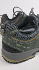 New listing Vasque Mens 9M Gore Tex Green Breeze III Low GTX Leather Hiking Boots #7196