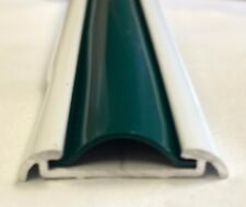 "1"" x 24 Ft. HUNTER GREEN Vinyl Insert Molding Trim Screw Cover RV Boat Trailer"