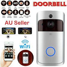 Wireless Doorbell WiFi Video Phone Intercom Door Ring Security Camera Rainproof