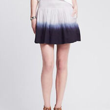 Banana Republic Dip Tie Dye Smock Mini Skirt BLUE and WHITE Sz XS *NWT* RP$79.50