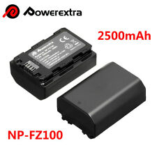 2500mAh NP-FZ100 Battery for Sony Alpha 9 A9 9R A9R 9S A7R III A7 III DSLR Cam