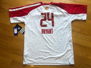 Vintage Boys NBA Kobe Bryant Lakers 2010 All-Star Warmup Shirt-SizeXL 18-20-New