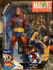 Marvel Universe 2009 Iron Man With Goliath Walmart Exclusive