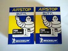 Lot 2 Chambre à air Vélo VTC Michelin Roue 700x35/47 Valve Presta
