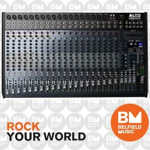 Alto Pro LIVE-2404 Mixer 24-Ch w/ Effects & USB 24 Channel - Brand New
