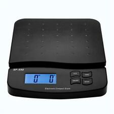 Postal Scale Digital Shipping Electronic Mail Packages Capacity 66lb With Adapter