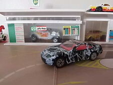 Matchbox Nissan 300 ZX-Blanco y Negro - 1:64 Diecast Hot Wheels