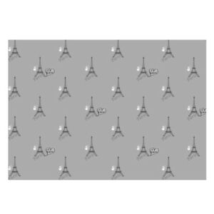 High Quality Paris & Balloom Design Gift Wrapping Paper-Size A3 - GP-127