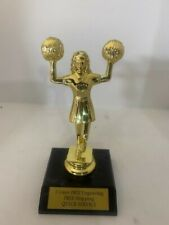 """Cheerleader Trophy 6"""" tall"""