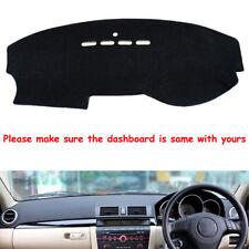 Auto Car Dash Mat Dashboard Cover Pad DashMat Black For Mazda 3 2003-2009
