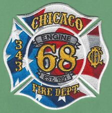 CHICAGO FIRE DEPARTMENT ENGINE COMPANY 68 PATCH