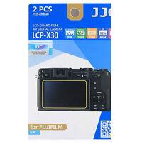 JJC LCP-X30 hard polycarbonate LCD Film Screen Protector For FujiFilm FUJI  X30