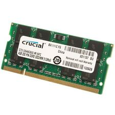 NEW 4GB (1x4gb)PC2-6400 DDR2 800MHz 200pin NON-ECC Sodimm Laptop Notebook Memory