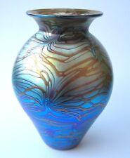 Edelste Kristall Glasvase ala Jugendstil/tArt Nouveau Unikat Feinste Handarbeit