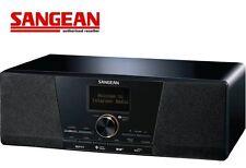 Sangean Digital FM Tabletop Internet Radio WFR-1D Black - Ex Demo