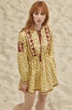 NWT! $475 Lupe 'Coba N' Embroidered Floral Minidress  SOLD OUT   SZ 2   B042