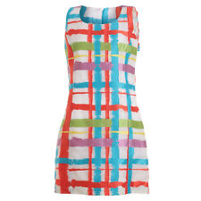 ANDREW GN Multi color block 2015 runaway collection dress Sz F 40 $3280 NEW