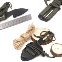 Mini Messer NeckKnife Gürtelmesser Taschenmesser Kydexscheide Paracord Griff EDC
