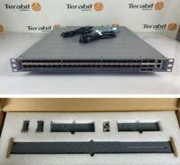 Juniper QFX5200-48Y-AFI 48x10G 25G + 6x40G 100G 2x AC PSU w/ 4-post rack mounts