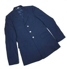 Air Force Military Style Men's Blue Blazer Coat Size 39XL