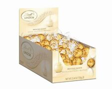 Unusually Delectable Elite Lindt LINDOR White Chocolate Truffles 60 Count Box SN