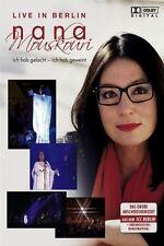 """NANA MOUSKOURI """"ICH HAB GELACHT ICH HAB GEWEINT"""" DVD"""