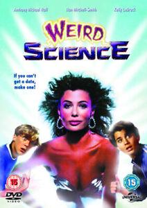 Weird Science DVD (2013) Kelly LeBrock, Hughes (DIR) cert 15 Fast and FREE P & P