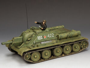 King and Country The SU-122 Self Propelled Howitzer and Commander RA077 MIB