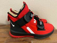 Nike Lebron Soldier XIII 13 SFG Red/White/Black AR4225-600 Men's Size 7.5