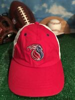 Vintage Detroit Pistons zephyr hat cap adjustable strap back h35