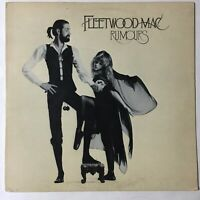 Fleetwood Mac LP Rumours VG+ Vinyl 1977 Warner Bros BSK 3010 Lyric Poster Insert