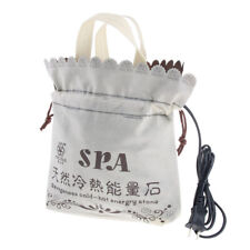 Body SPA Massage Hot Stones Heating Bag Warmer Heater for 16pcs Rocks Stones