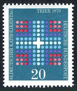 Germany 1046, MNH. Cross. 83rd meeting of German Catholics, Trier, 1970