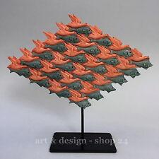 "M. C. ESCHER Skulptur - ""VOGEL-FISCH - BIRD-FISH"" - Parastone Museums Figur"