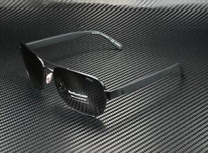 RALPH LAUREN POLO PH3101 903887 Matte Black Dark Gray 60 mm Men's Sunglasses