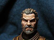 HEAD ONLY Mythic Legion Four Horsemen Custom Painted Darius brown HEAD ONLY