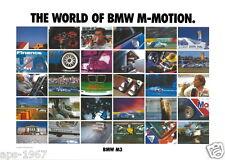 BMW E30 M3 DTM  Motorsport poster print # 8