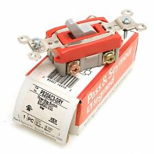Pass & Seymour PS20AC3-GRY Toggle 3-way Switch 20A 120/277VAC
