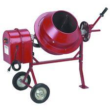 Brand New Portable Electric 1-1/4 Cubic Ft. Cement Concrete Mortar Stucco Mixer