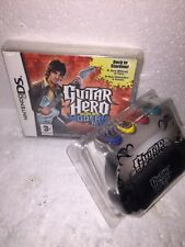 DS LITE GUITAR HERO ON TOUR Modern Hits GRIP & GAME New Sealed