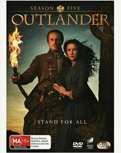 OUTLANDER Complete Season 5 DVD BRAND NEW & SEALED In Aus!