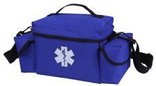 blue ems bag emt medic rescue pack with shoulder strap rothco 2743