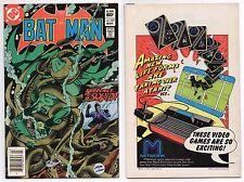 BATMAN #357 NWSTD VARIANT W/ATARI INSERT 1ST APPEARANCE JASON TODD & KILLER CROC