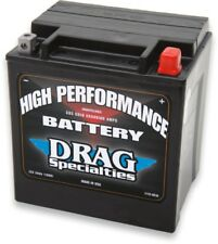 DRAG SPECIALTIES AGM BATTERY HARLEY ELECTRA GLIDE ROAD KING STREET TRIKE TRI