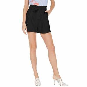 INC NEW Women's Linen Blend Paperbag Belted Khakis & Chinos Shorts TEDO