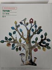KidsOnRoof Totem Tree~3D Contstruction Puzzle Kit~165 Pieces~Open Box New