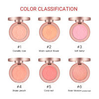 Womens  6 Colors Makeup Blushes Highlighter Bronzer Palette Long Lasting